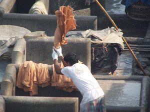 The Disappearing Dhobi?